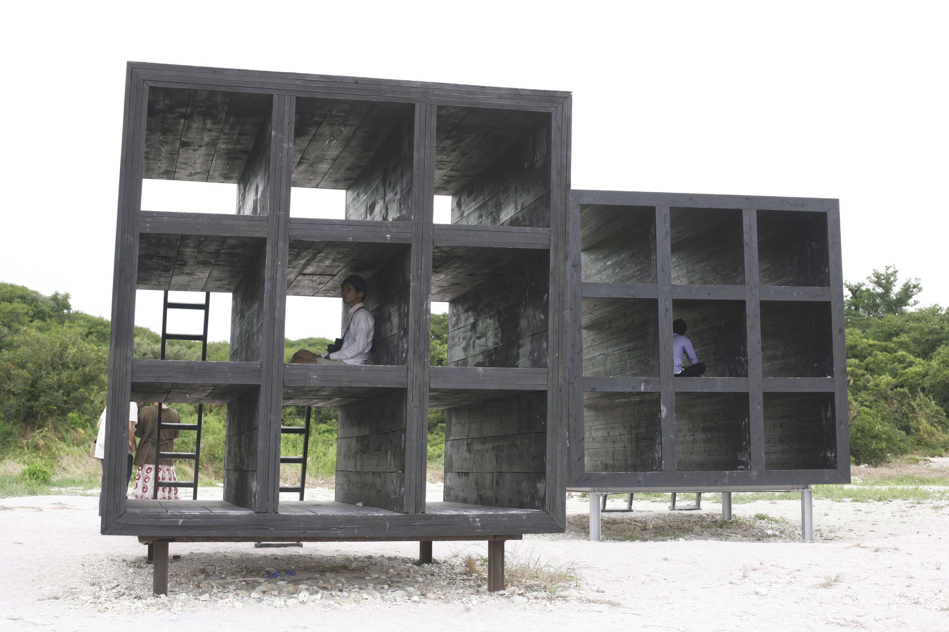 佐久島のモニュメント